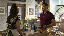 Dipi Rebecchi, Pierce Greyson in Neighbours Episode 8416