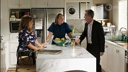 Terese Willis, Harlow Robinson, Paul Robinson in Neighbours Episode 8416