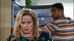 Sheila Canning, Levi Canning in Neighbours Episode 8416