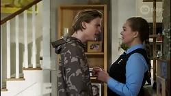 Brent Colefax, Harlow Robinson in Neighbours Episode 8417