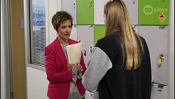 Susan Kennedy, Mackenzie Hargreaves in Neighbours Episode 8419