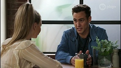 Chloe Brennan, Aaron Brennan in Neighbours Episode 8419
