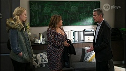 Jenna Donaldson, Terese Willis, Paul Robinson in Neighbours Episode 8420