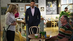 Jane Harris, Pierce Greyson, Karl Kennedy in Neighbours Episode 8420