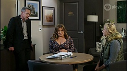 Paul Robinson, Terese Willis, Jenna Donaldson in Neighbours Episode 8420
