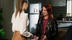 Chloe Brennan, Nicolette Stone in Neighbours Episode 8420