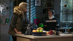 Jenna Donaldson, Emmett Donaldson in Neighbours Episode 8420