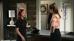 Nicolette Stone, Chloe Brennan in Neighbours Episode 8421