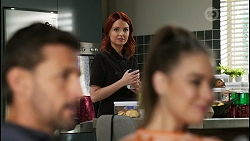 Pierce Greyson, Nicolette Stone, Chloe Brennan in Neighbours Episode 8421