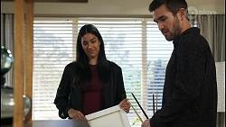 Yashvi Rebecchi, Ned Willis in Neighbours Episode 8421