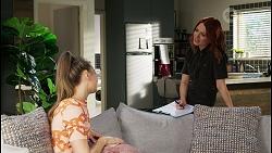 Chloe Brennan, Nicolette Stone in Neighbours Episode 8421