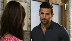 Dipi Rebecchi, Pierce Greyson in Neighbours Episode 8421