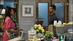 Dipi Rebecchi, Pierce Greyson in Neighbours Episode 8422