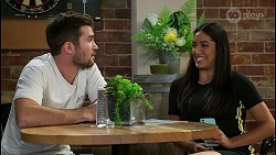 Ned Willis, Yashvi Rebecchi in Neighbours Episode 8423