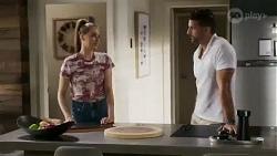 Chloe Brennan, Pierce Greyson in Neighbours Episode 8424