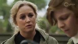 Jenna Donaldson, Emmett Donaldson in Neighbours Episode 8424