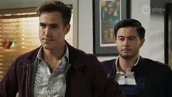 Aaron Brennan, David Tanaka in Neighbours Episode 8424