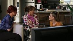 Nicolette Stone, Fay Brennan, Chloe Brennan in Neighbours Episode 8425