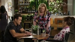 Aaron Brennan, Sheila Canning, Fay Brennan in Neighbours Episode 8426