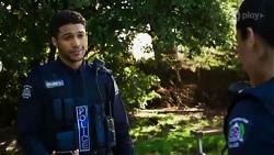 Levi Canning, Yashvi Rebecchi in Neighbours Episode 8426