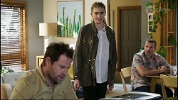 Shane Rebecchi, Mackenzie Hargreaves, Toadie Rebecchi in Neighbours Episode 8427