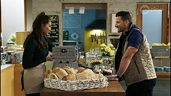 Dipi Rebecchi, Pierce Greyson in Neighbours Episode 8427