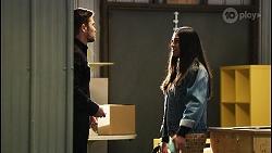 Ned Willis, Yashvi Rebecchi in Neighbours Episode 8427