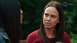Yashvi Rebecchi, Bea Nilsson in Neighbours Episode 8427