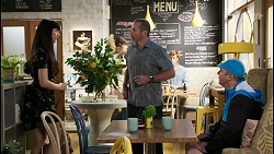 Kayla Gold, Toadie Rebecchi, Karl Kennedy in Neighbours Episode 8428
