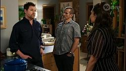 Shane Rebecchi, Toadie Rebecchi, Dipi Rebecchi in Neighbours Episode 8429