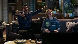 David Tanaka, Emmett Donaldson in Neighbours Episode 8429
