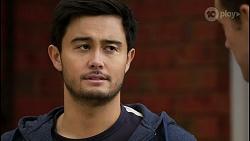 David Tanaka, Aaron Brennan in Neighbours Episode 8429