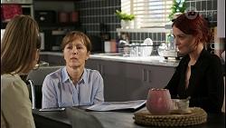 Chloe Brennan, Fay Brennan, Nicolette Stone in Neighbours Episode 8430