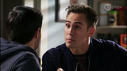 David Tanaka, Aaron Brennan in Neighbours Episode 8430