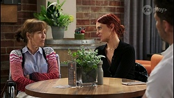 Fay Brennan, Nicolette Stone, Pierce Greyson in Neighbours Episode 8430