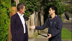 Paul Robinson, David Tanaka in Neighbours Episode 8430