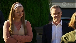 Harlow Robinson, Paul Robinson, Emmett Donaldson in Neighbours Episode 8430