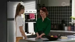Chloe Brennan, Nicolette Stone in Neighbours Episode 8431