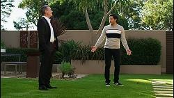 Paul Robinson, David Tanaka in Neighbours Episode 8432