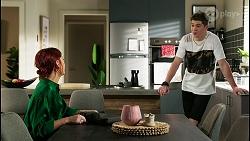 Nicolette Stone, Hendrix Greyson in Neighbours Episode 8432