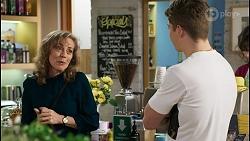 Jane Harris, Hendrix Greyson in Neighbours Episode 8432