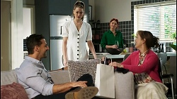 Pierce Greyson, Chloe Brennan, Nicolette Stone, Fay Brennan in Neighbours Episode 8432