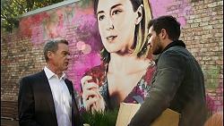 Paul Robinson, Sonya Rebecchi, Ned Willis in Neighbours Episode 8432