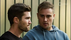 Ned Willis, Kyle Canning in Neighbours Episode 8432