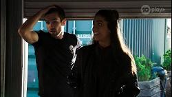 Ned Willis, Yashvi Rebecchi in Neighbours Episode 8433