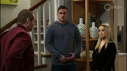 Toadie Rebecchi, Kyle Canning, Roxy Willis in Neighbours Episode 8433