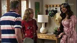 Karl Kennedy, Jane Harris, Dipi Rebecchi in Neighbours Episode 8434