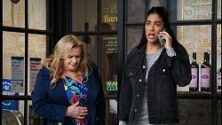 Sheila Canning, Yashvi Rebecchi in Neighbours Episode 8434