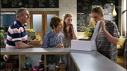 Karl Kennedy, Susan Kennedy, Mackenzie Hargreaves, Richie Amblin in Neighbours Episode 8434