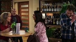 Jane Harris, Toadie Rebecchi, Dipi Rebecchi, Shane Rebecchi in Neighbours Episode 8434